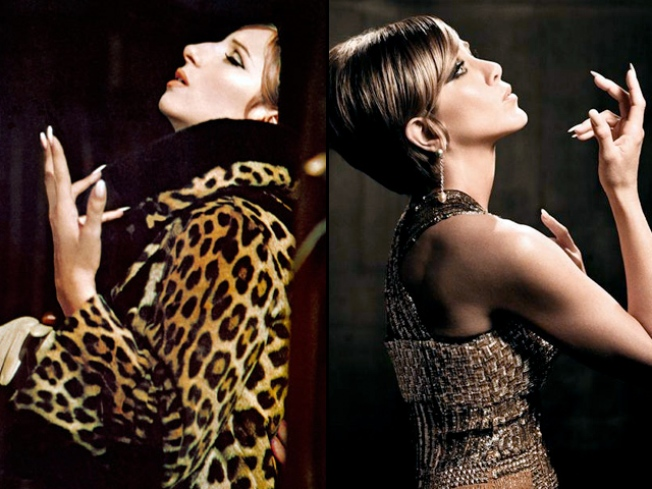 Jennifer Aniston Channels Barbra Streisand for Photo Shoot
