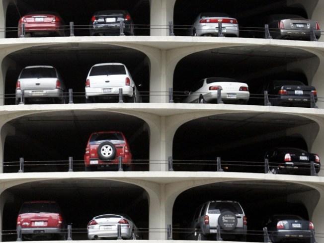 Plum Parking Spot for Going Green