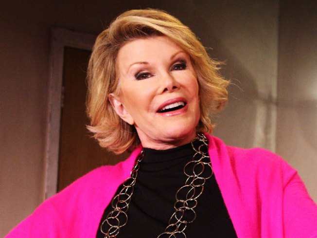 Joan Rivers On Her Costa Rica Airport Incident: I'm 'Not Going To Put A Bomb In A Chanel Bag'