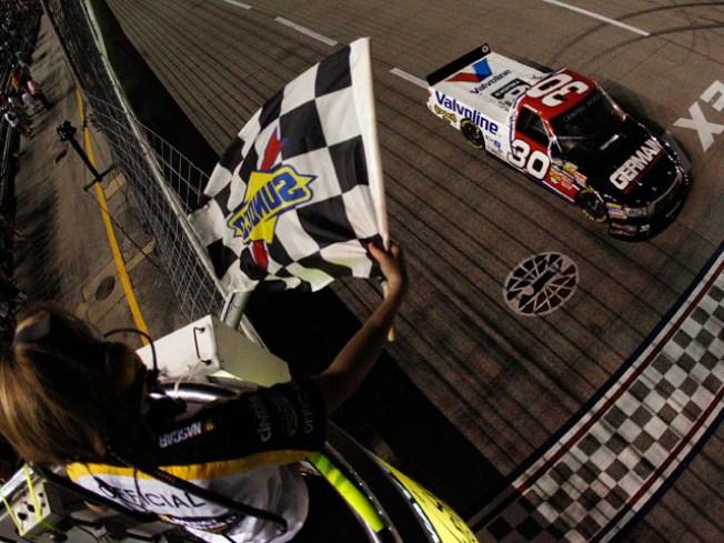 Bodine Becomes 6-time NASCAR Truck Winner