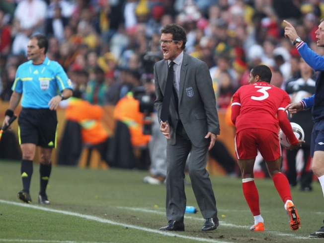 Capello Stays with Three Lions