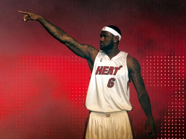 LeBron James Lashes Out at All Miami Critics Except One