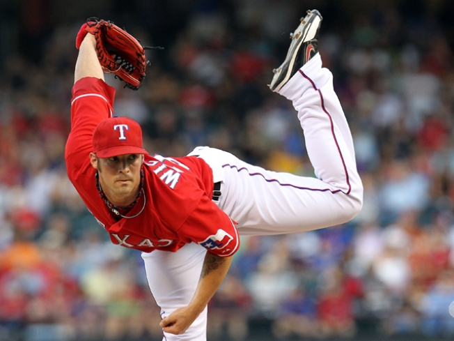 Wilson, Young lead Rangers past the Red Sox