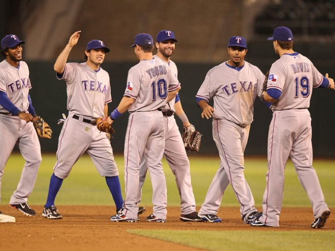 Rangers Reduce Magic Number to 2
