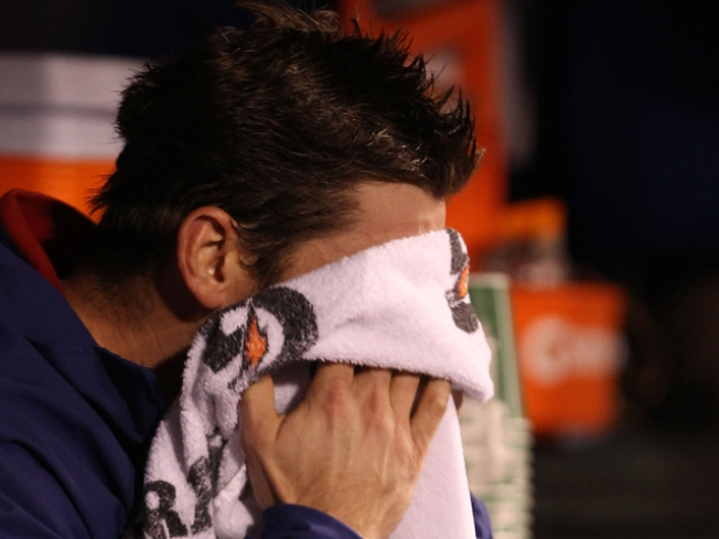 Cliff Lee Pulled in Fifth Inning