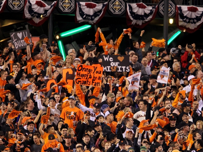 Giants Management, Fans Already Think World Series in the Bag