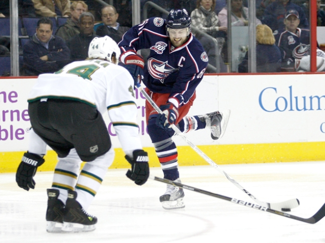 Columbus Ends Losing Streak With Win Over Dallas
