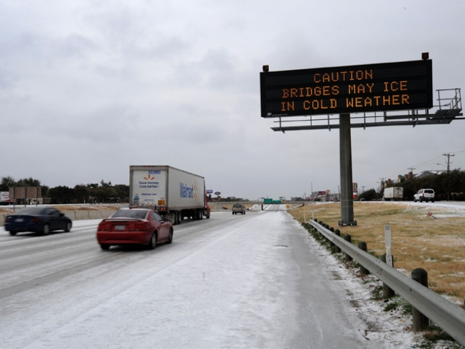 Icy Roads Remain, So Why No Salt?