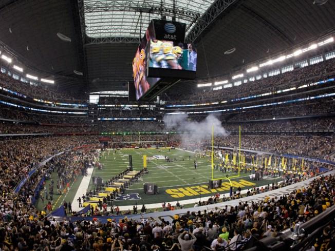 Cowboys Stadium Fails to Break Super Bowl Record