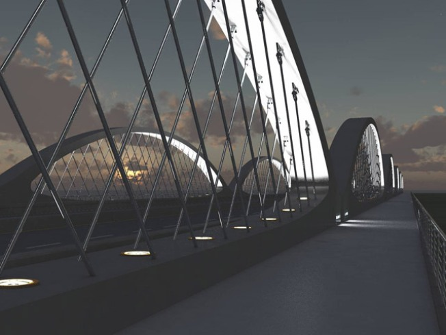 Fort Worth Gets Signature Bridge
