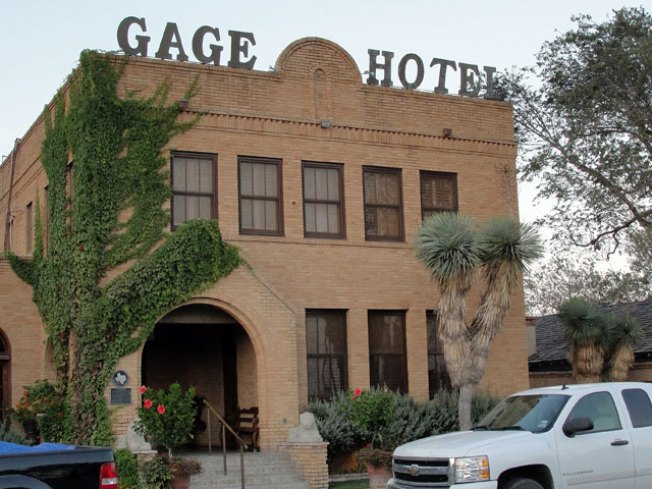 Worth The Drive: Marathon and the Haunted Gage Hotel