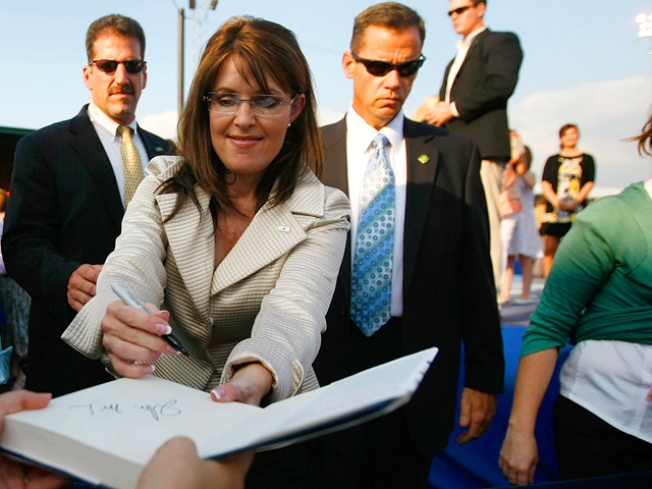 Palin Co-Author: Evangelical, Partisan