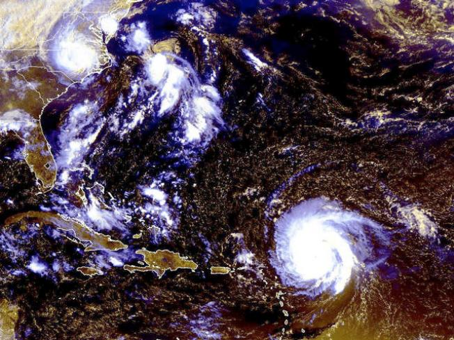 Tropical Storm Hermine Headed to Texas