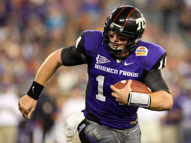 TCU'S Dalton Headed to Cincinnati