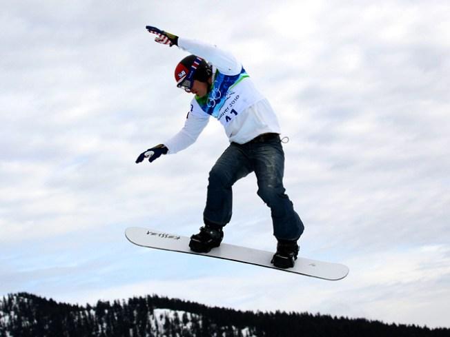 Seth Wescott Wins Snowboardcross Gold for the U.S.