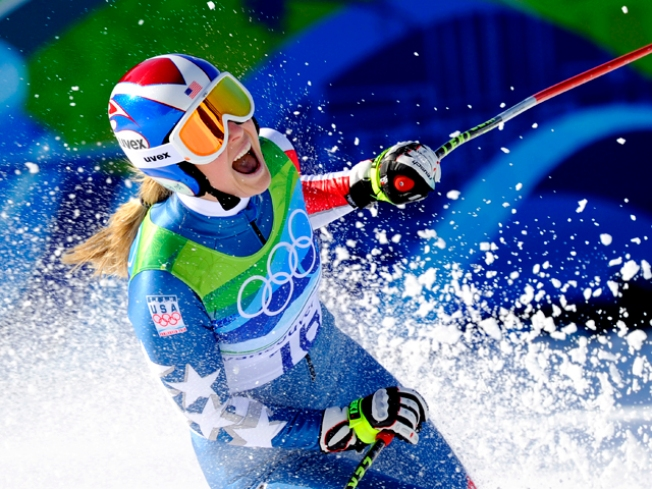 Vonn, Davis Lead Team U.S.A. in Wednesday Events