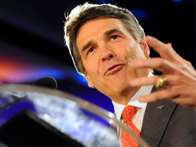 Perry Denies Improper Dealings in Land Deal