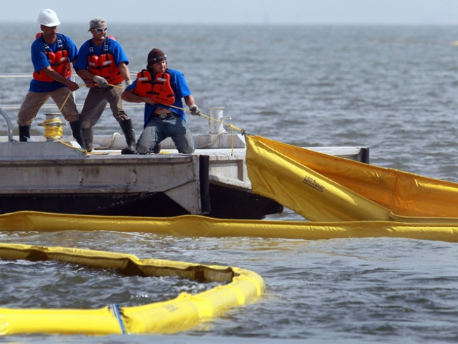 Plano Company Helps Oil Spill Cleanup