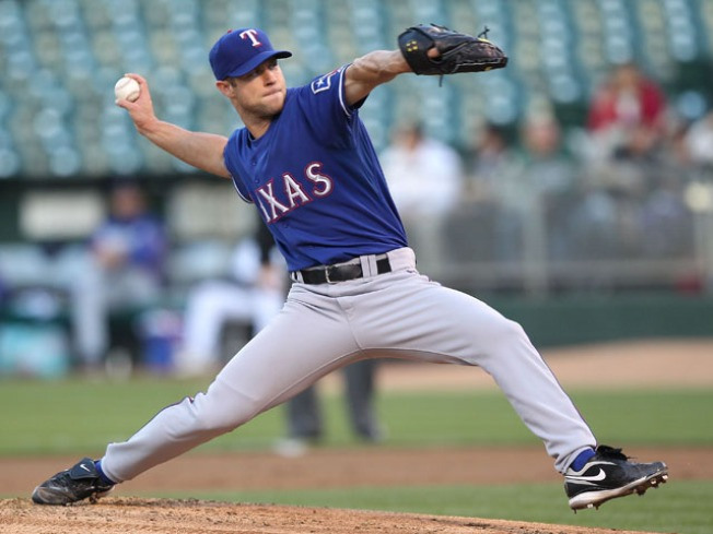 Nearly a No-No for the Rangers