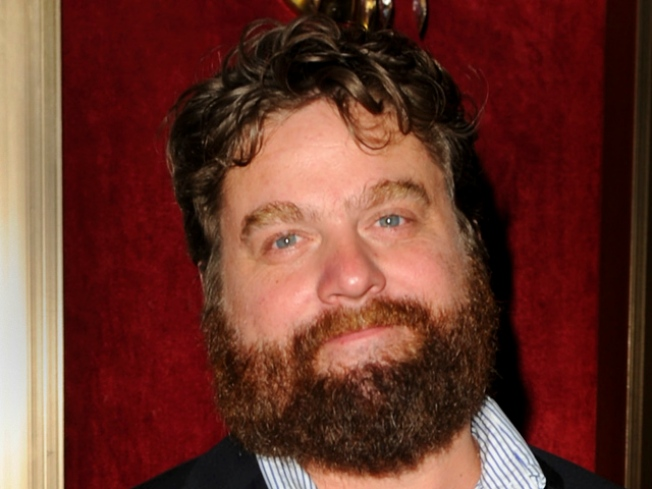"Zach Galifianakis Pays Tribute to ""Annie"" on ""SNL"""