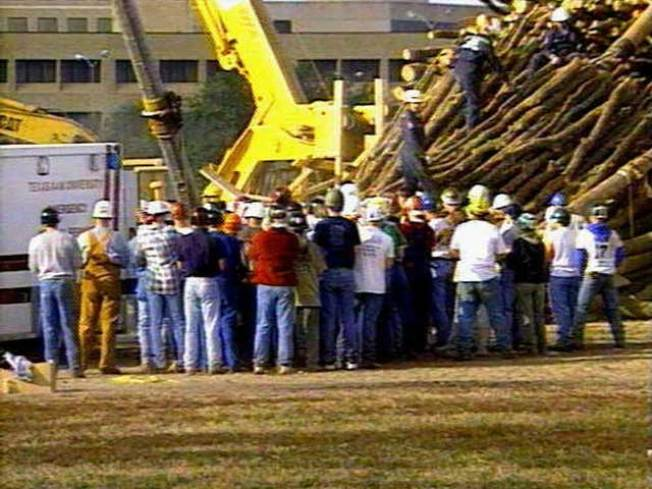 Texas A&M Bonfire Collapse Remembered