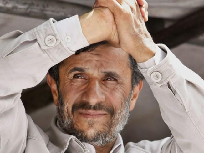 "Ahmadinejad: No Election ""Problems"""
