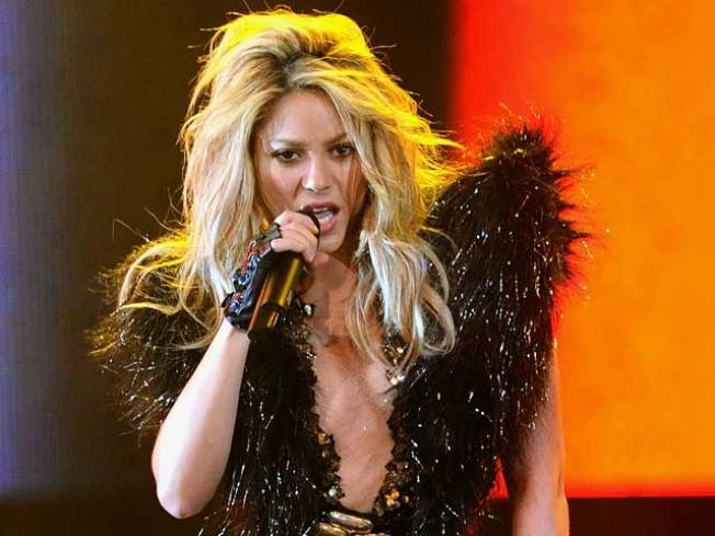Shakira Shakes Up the White House