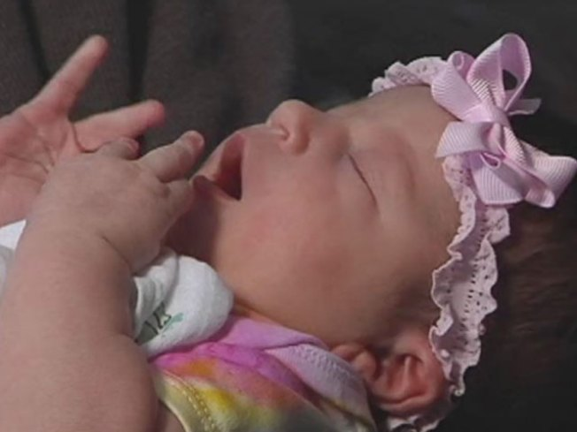 Baby Born on Porch on Christmas Day