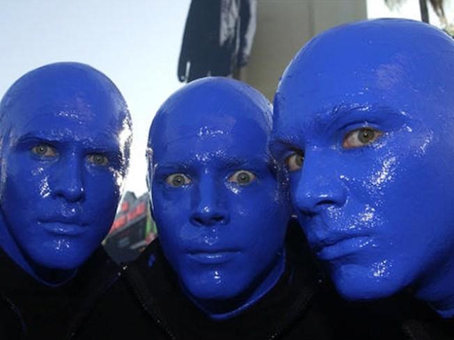 9/14: Blue Man Tuesday