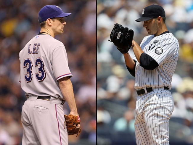Now It's Cliff Lee vs. Andy Pettitte