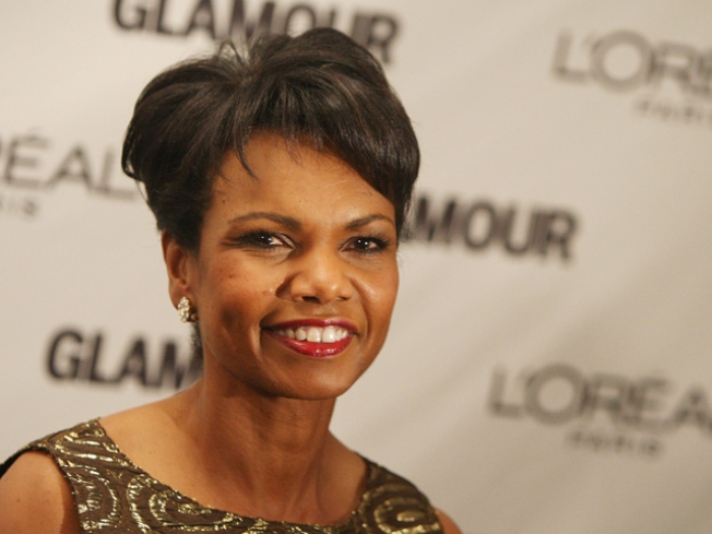 Condoleezza Rice Plays Along With Alec Baldwin Romance