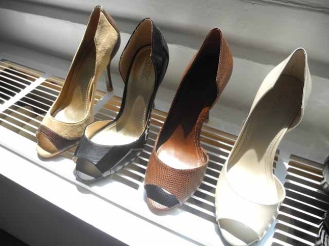Man Busted for Chopping Up Wife's Shoes