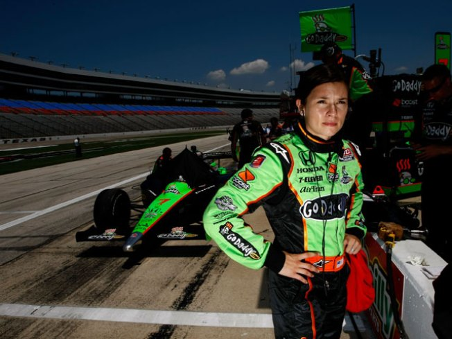 Danica Puts In Her Best at TMS