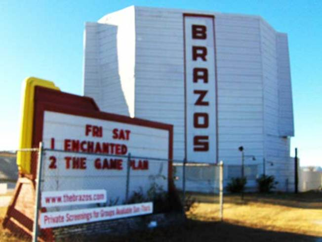 Granbury Drive-In Among Texas' Endangered Places