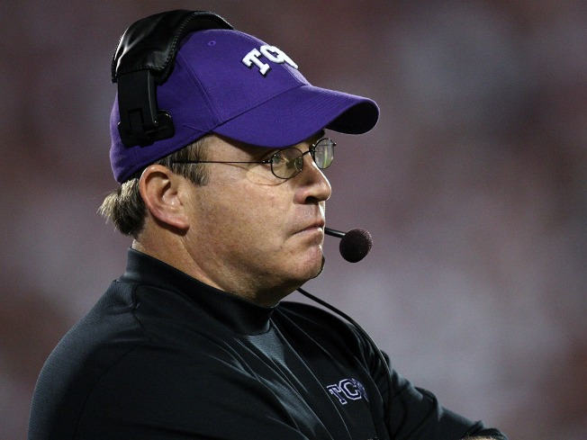 Patterson: No Politicking for TCU