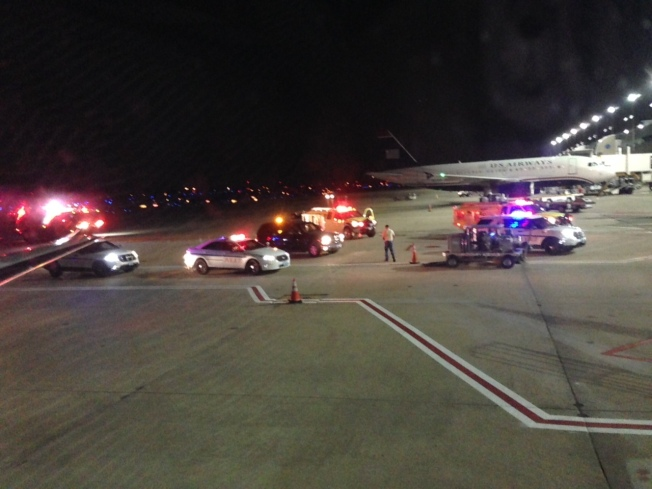 American Airlines Flight to DFW Diverted