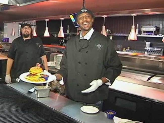 Jason Terry Is Flipping Burgers