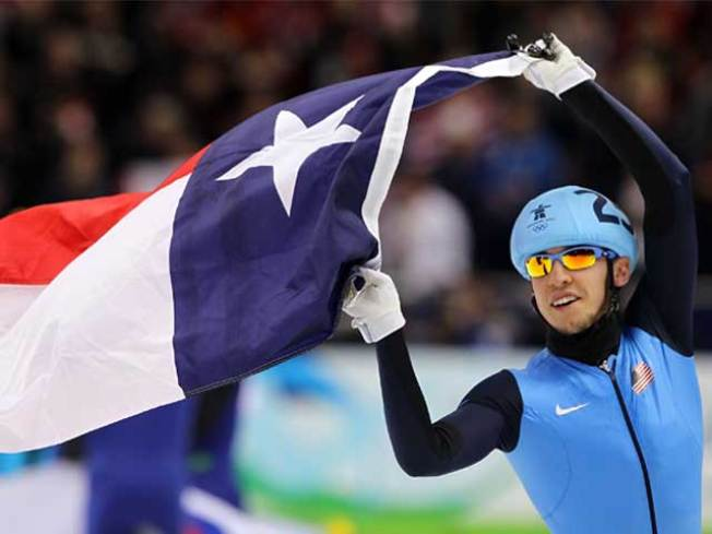 Olympian Brings Medal Home to N Texas