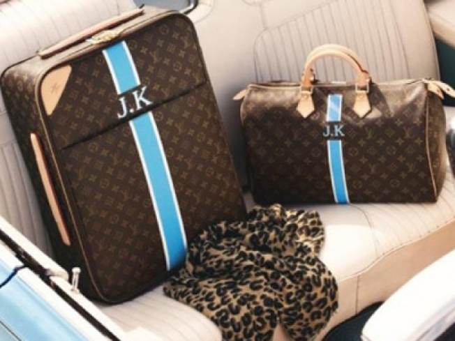 Fantasy Santa: Personalized Louis Vuitton