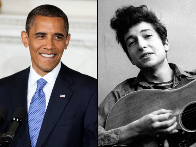 On Obama's iPod: Dylan, Rolling Stones