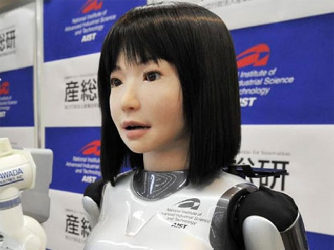 Japanese Introduce Robot Fashion Model