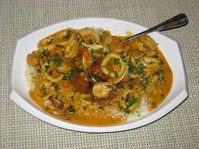 Seafood Saltado Recipe