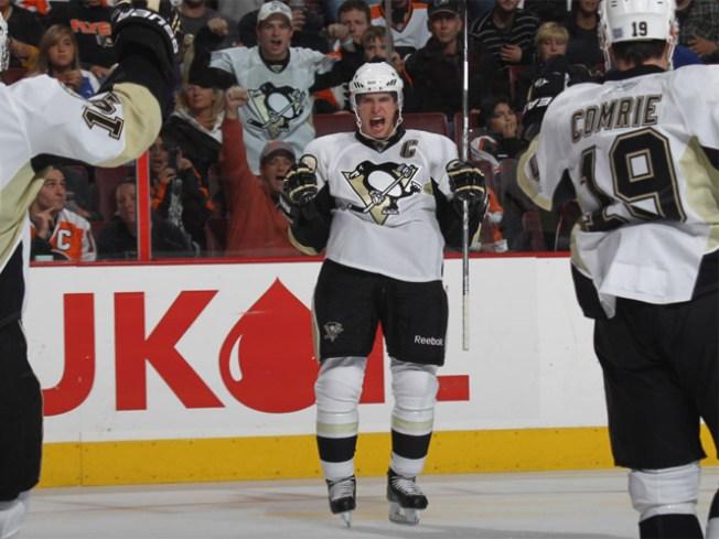 Eriksson's 2 Goals Lead Stars Past Penguins