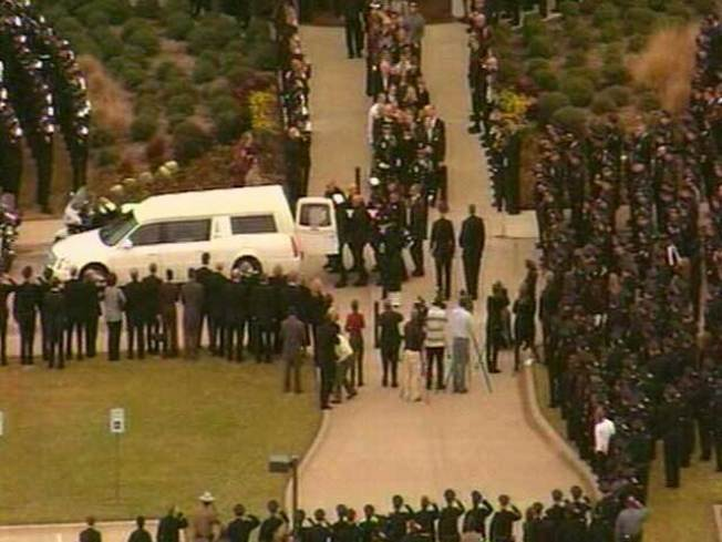 Funeral Services Held for Arlington Officer