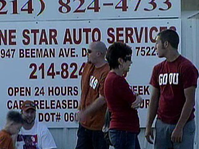 Dallas Tow Company Back in Business