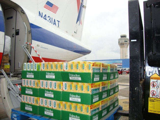 AA Offers Miles for Donations, Flies Relief Into Haiti