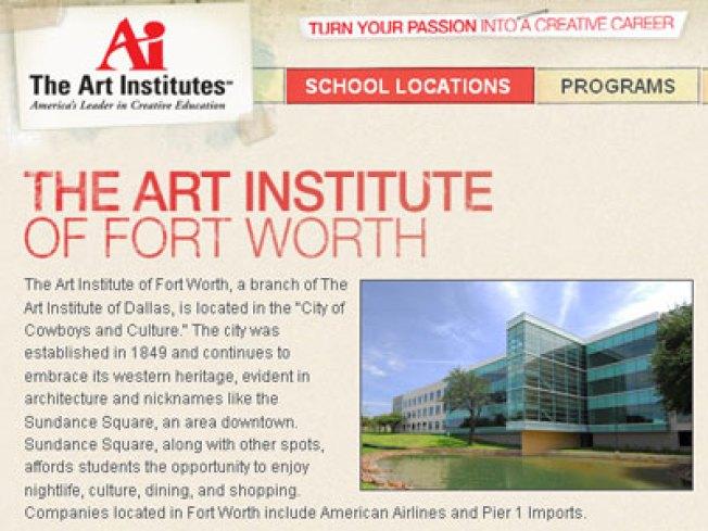 classes begin at art institute of fort worth nbc 5 dallas fort worth