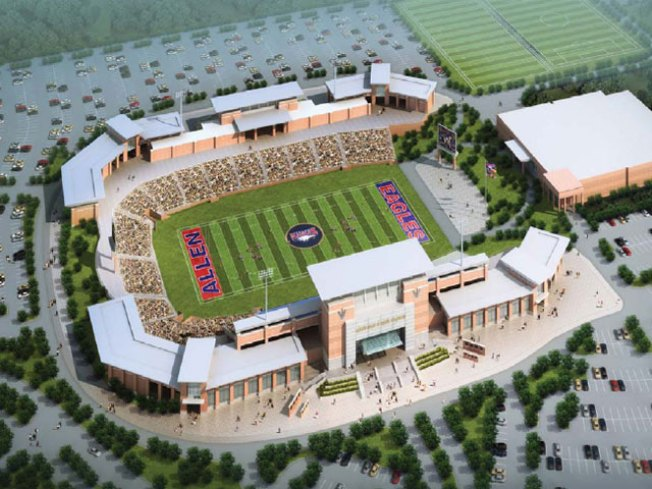 Allen to Break Ground on $60M High School Stadium