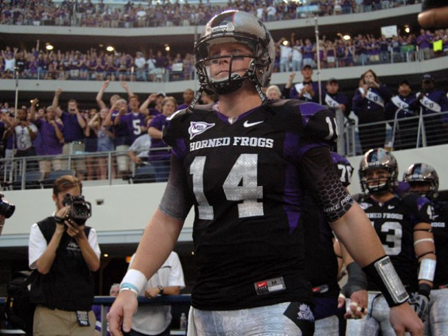 Frogs Overcome Turnovers to Start 2010 with Win