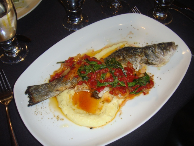 Gourmet Yourself: Pan Roasted Loup de Mer from Dragonfly